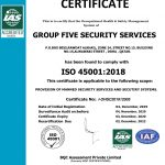 Group five security services